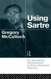 Cover of: Using Sartre