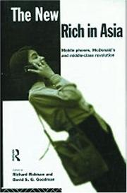 Cover of: The New Rich in Asia | R. Robison