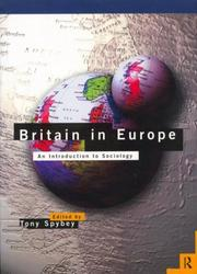 Cover of: Britain in Europe