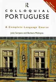 Cover of: Colloquial Portuguese (Colloquial Series (Multimedia))