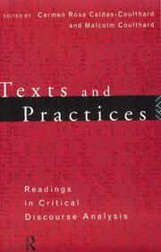 Cover of: Texts and Practices
