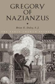 Cover of: Gregory of Nazianzus | Brian Daley