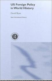 Cover of: US foreign policy in world history