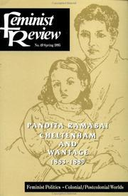 Cover of: Feminist Review | Feminist Review