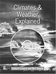 Cover of: Climates and weather explained