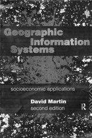 Cover of: Geographic information systems | Martin, David