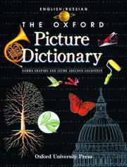Cover of: The Oxford picture dictionary | Norma Shapiro