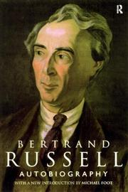 Cover of: Bertrand Russell