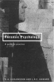 Cover of: Forensic psychology | Gisli H. Gudjonsson