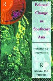 Cover of: Political change in Southeast Asia