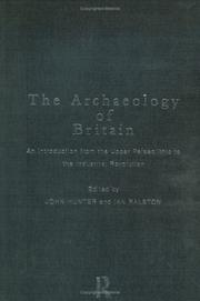 Cover of: The archaeology of Britain