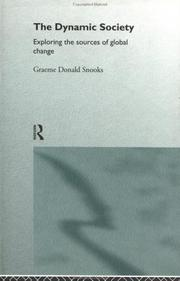 Cover of: The dynamic society