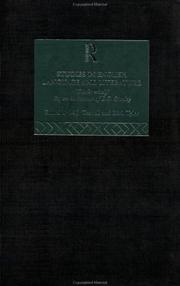 Cover of: Studies in English Language and Literature | M. J. Toswell