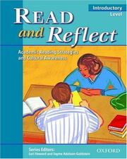 Cover of: Read and reflect, introductory level