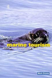 Cover of: Marine Tourism | Mark Orams