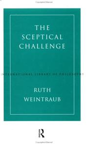 Cover of: The sceptical challenge