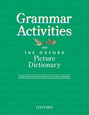 Cover of: The Oxford Picture Dictionary | Jayme Adelson-Goldstein, Norma Shapiro