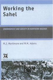 Cover of: Working the Sahel