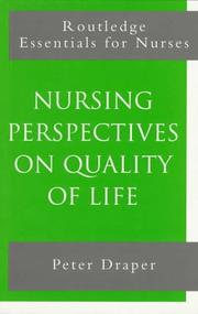 Cover of: Perspectives on quality of life