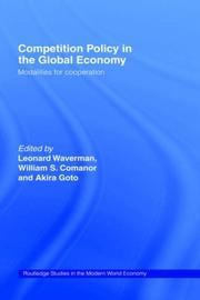 Cover of: Competition policy in the global economy |