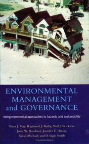 Cover of: Environmental Management and Governance | Peter J. May