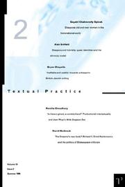 Cover of: Textual Practice