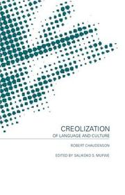 Cover of: Creolization of language and culture
