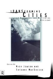 Cover of: Transforming Cities
