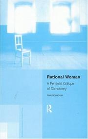 Cover of: Rational woman | Raia Prokhovnik