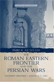 Cover of: Roman Eastern Frontier and the Persian Wars | Geoffr Greatrex