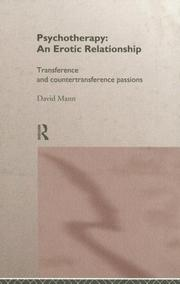Cover of: Psychotherapy, an erotic relationship