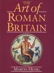 Cover of: art of Roman Britain | Martin Henig