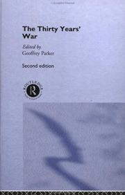 Cover of: The Thirty Years' War | edited by Geoffrey Parker ; with contributions by Simon Adams ... [et al.].