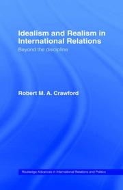 Cover of: Idealism and realism in international relations