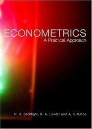 Cover of: Econometrics | Anastasio Katos