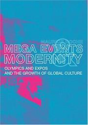 Cover of: Megaevents and Modernity