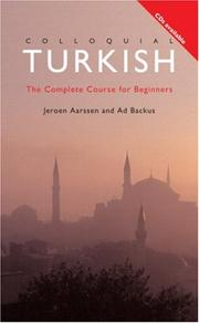 Cover of: Colloquial Turkish  | Ad Backus