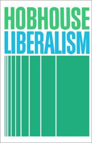 Cover of: Liberalism