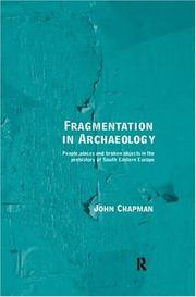 Cover of: Fragmentation in archaeology