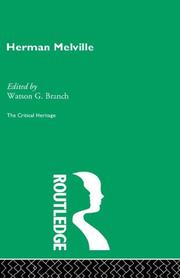 Cover of: Herman Melville (The Critical Heritage Series)