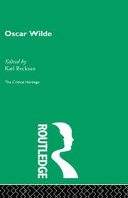 Cover of: Oscar Wilde (The Critical Heritage Series)