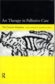 Cover of: Art therapy in palliative care |