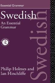 Cover of: Swedish | Philip Holmes
