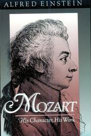 Cover of: Mozart | Alfred Einstein