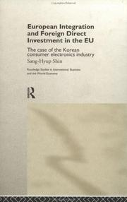 Cover of: European integration and foreign direct investment in the EU
