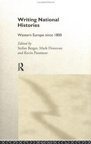 Cover of: Writing National Histories