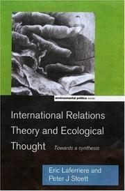 Cover of: International Relations Theory and Ecological Thought | Eric LaferriГЁre