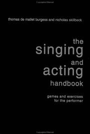 Cover of: The Singing and Acting Handbook