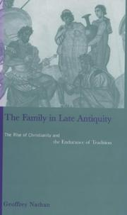 Cover of: The family in late antiquity
