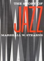 Cover of: The Story of Jazz | Marshall W. Stearns